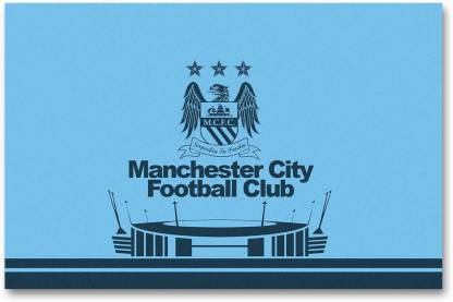 Manchester City Football Club Wall Poster Logo Hd Quality Football Poster Paper Print Decorative Posters In India Buy Art Film Design Movie Music Nature And Educational Paintings Wallpapers At Flipkart Com