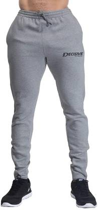 Men's Jogger Sport Pants Gym Fitness Active Sweatpants Zipper Bottom Tracksuit