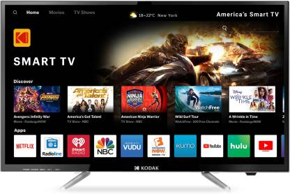 Kodak 80cm (32 inch) HD Ready LED Smart TV
