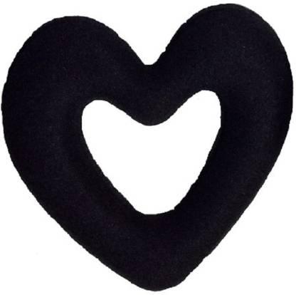 NERR Heart shape donut Bun Bun (Black) Bun