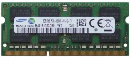 Samsung Low Voltage 1600 MHz DDR3 8 GB (Dual Channel) Mac, Laptop SODIMM (PC3L-12800)