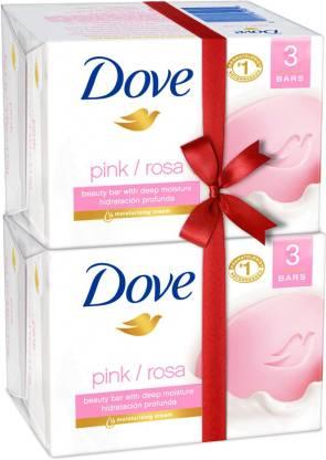 Dove Pink Rosa Soap Super Saver Pack  (6 x 100 g)