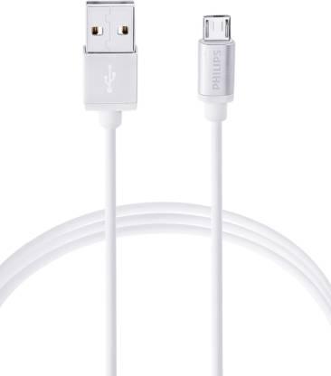 PHILIPS DLC2518M 120 cm Original Micro USB 5 A 1.2 m Poly Etheline Micro USB Cable