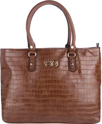 E2O Fashion Women Brown Tote