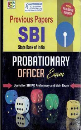 State Bank Of India Provationary Officer Exam (New)