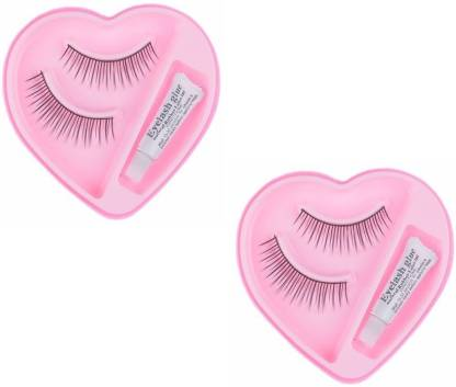 JAMPAK Styling Eyelash Day and Night Pack with Glue (Pack of 2)