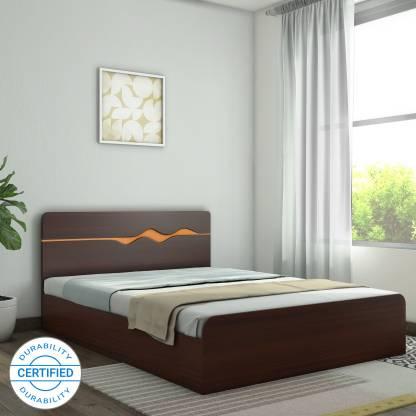 Hometown Swirl Engineered Wood Queen Box Bed