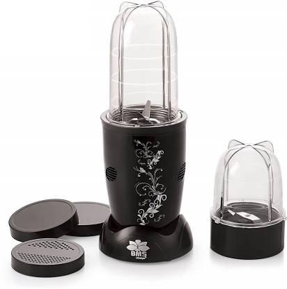 BMS Lifestyle High-Speed Nutri-Blender 400 Juicer Mixer Grinder (2 Jars, Balck)