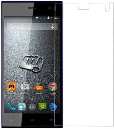 Heartly Tempered Glass Guard for Micromax Canvas Xpress with HOTKNOT A99 Dual Sim