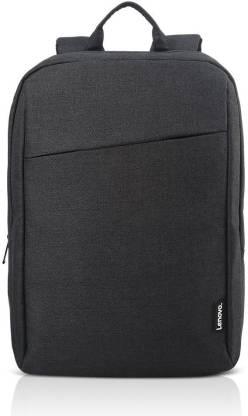 Lenovo Laptop Backpack, 15.6-Inch Casual Backpack B210, Black, GX40Q17225 Laptop Bag