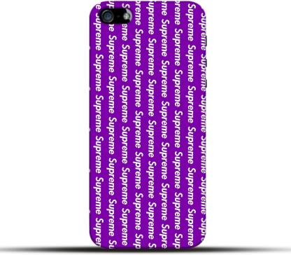Pikkme Back Cover for Supreme Apple Iphone 5 / 5S / SE - Pikkme ...