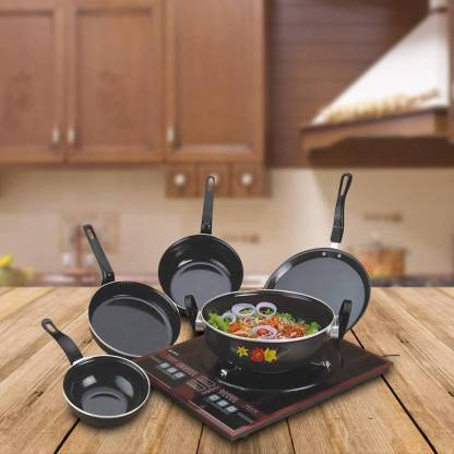 MY STORE Luxar Induction Bottom Cookware Set