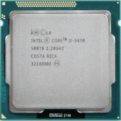 Intel Core i5-3470 3.2 GHz Upto 3.6 GHz LGA 1155 Socket 4 Cores 4 Threads 6 MB Smart Cache Desktop Processor