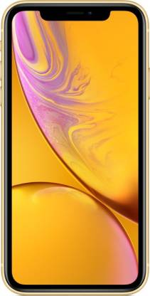 Apple iPhone XR (Yellow, 64 GB) (Includes EarPods, Power Adapter)