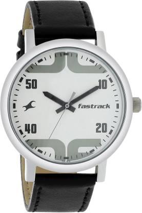 Fastrack 38052SL04 Bold Fonts Analog Watch - For Men