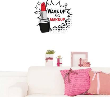 100yellow Medium Wall Makeup Sticker