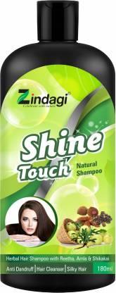 Zindagi Shine Touch Herbal Shampoo - Natural Shampoo - Anti Dandruff & Useful In Hair Fall (Buy 1 Get 1 Free)