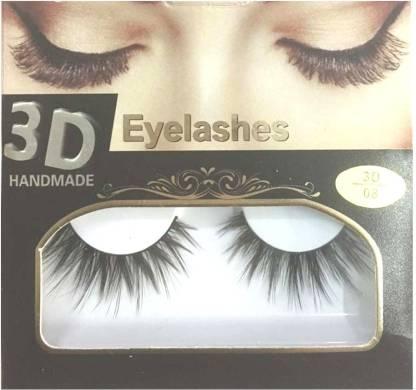 BELLA HARARO 3D Handmade Mink Eyelashes for Girl, Eyelashes for Women (Pack of 1 Pair)