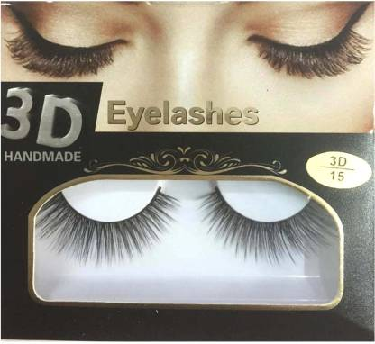 BELLA HARARO 3D Handmade Eyelashes for Girl, Eyelashes for Women (Pack of 1 Pair)