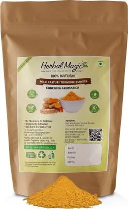 Herbal Magic Wild Kasturi Turmeric Powder