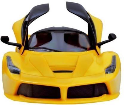 Baby First Ferrari Door Opening Car With Remote Control Yellow Ferrari Door Opening Car With Remote Control Yellow Shop For Baby First Products In India Flipkart Com