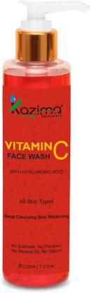 KAZIMA Vitamin C  (210ML) Face Wash
