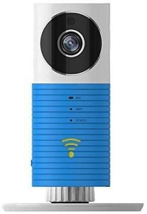 Cleverdog HD WIFI IP CCTV MicroSD card compatible, Cloud Storage Option, Plug & Play, Blue Security Camera