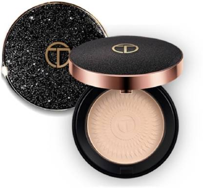 O.TWO.O 6054A22 : Dream Diamond Natural Face Powder Concealer With Puff Compact