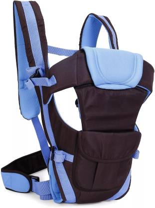 Ineffable 4 Way Carrying Position Wide Shoulder Straps Adjustable Belts and Cushioned Inner Portions Baby Carrier Baby Carrier