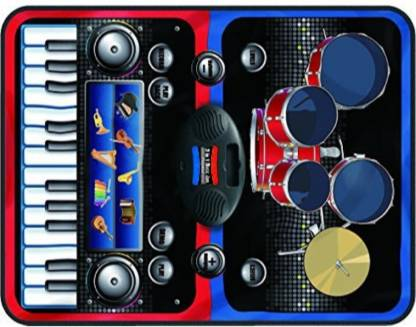 Smartcraft Piano Series, Children 2-in-1 Musical Jam Playmat,Electric Musical Playmat Toy Above 3 Years - Multicolor