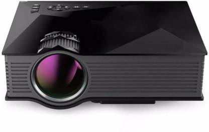 Bluebells India ® Wireless WIFI UC-46 Mini Multimedia Video Home Cinema LED 1200 lm LED Corded Portable ProjectoR Portable Projector