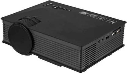 Bluebells India UC-46 Mini LED Video Home Cinema Beamer UNi-Link WiFi 1200 lm LED Corded Portable Projector Portable Projector