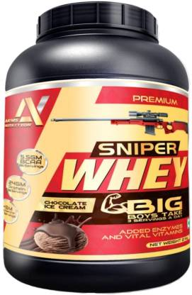 arms nutrition Arms Nutrition Sniper Whey Protein 2 Kg Jar (Chocolate Ice Cream) Whey Protein