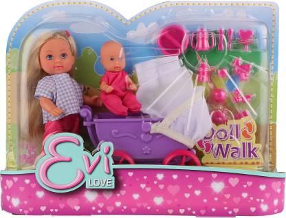 SIMBA EVI Love Doll Walk Purple Playset for Kids