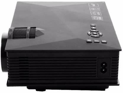 BENISON INDIA Mini Multimedia Video Home Cinema LED 1200 lm LED Corded Portable Projector Portable Projector