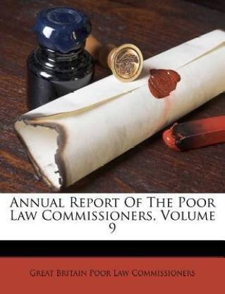 Annual Report of the Poor Law Commissioners, Volume 9