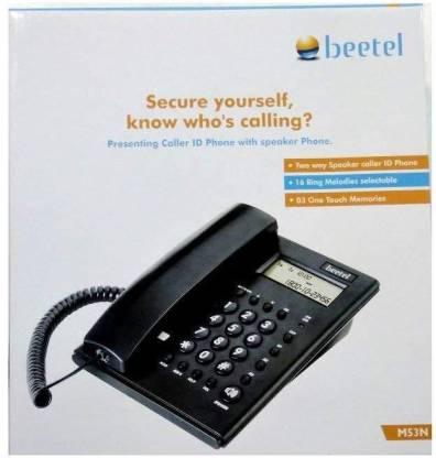 Beetel M53N Corded Landline Phone