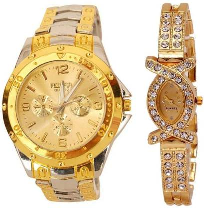 Rosra sz0260 Analog Watch - For Couple