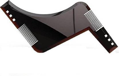 PELO Beard Shaper Comb For Boys For Perfect Beard Lines, Salon Use Accessories For Men, Template Tool For Beard Styling, Pack Of 1