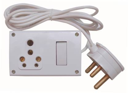 Ruhaila One 16 Amp 3 Pin Socket With, 3 Pin Plug Wiring Diagram India