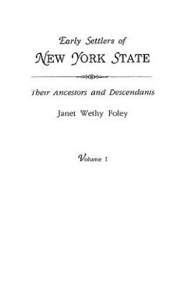 Early Settlers of New York State