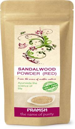 PRAMSH Premium Quality Red Sandalwood (Chandan) Powder Pack Of  (100 g)