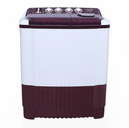Lloyd 8 kg Semi Automatic Top Load Maroon