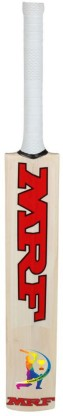 MRF Virat Kohli world cup education Poplar Willow Cricket Bat