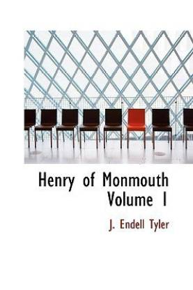 Henry of Monmouth Volume 1