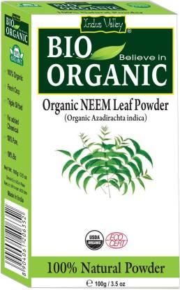 Indus Valley Pure Natural Bio Organic Neem Powder 100g