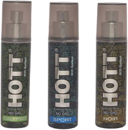 HOTT CALYPSO, SPORT & NOIR Perfume Spray for Men- (Set of 3) (60ml each) Perfume  -  60 ml