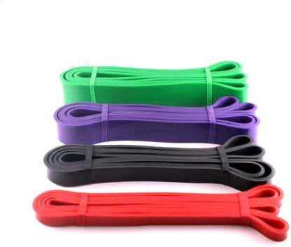 CSU Set of 4 PullUp Assist Band Heavy Duty Resistance Band-Mobility,Power-Lifting Band Resistance Tube