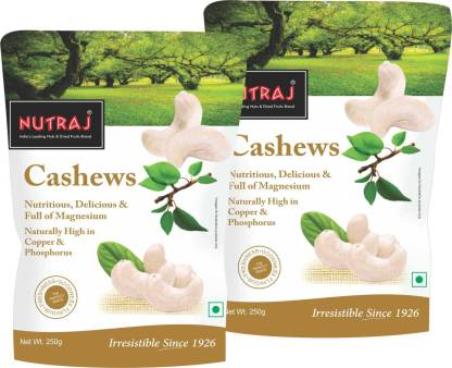 Nutraj Special Cashew Nuts (Kaju) W320 Cashews