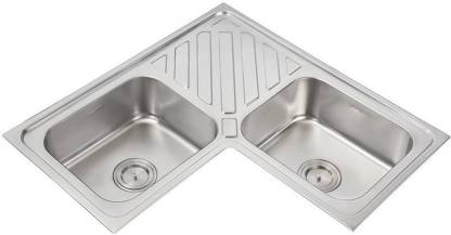 Anupam Stainless Steel Kitchen Sink 965 X 510 X 200 Mm 38 X 20 X 8